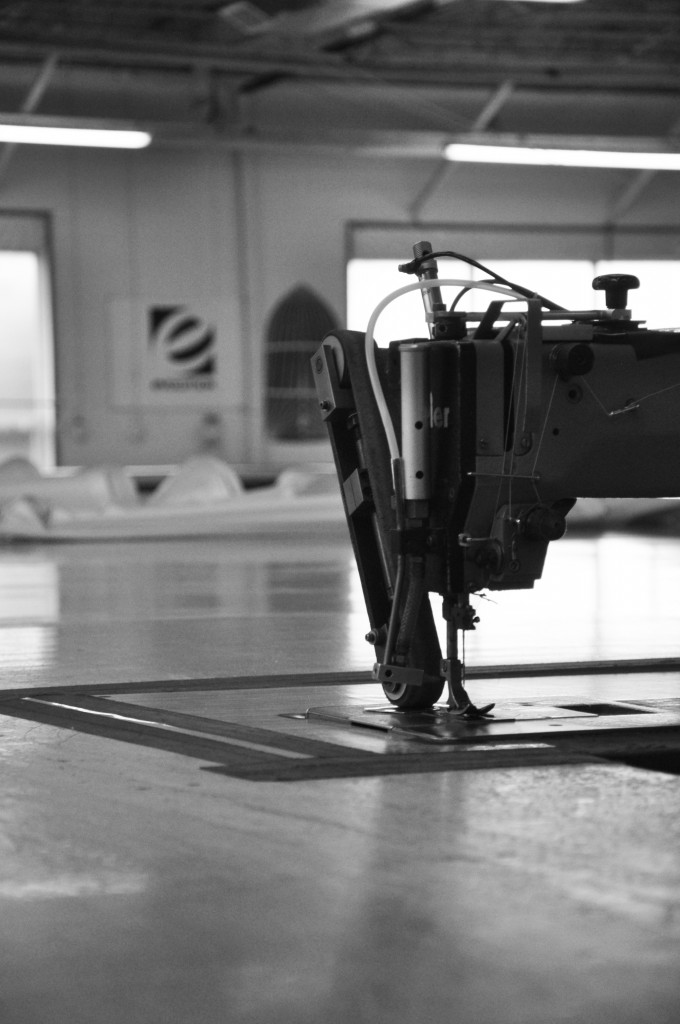 Sewing Machine B&W