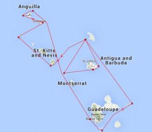 RORC Caribbean 600 Course